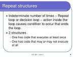 repeat structures1