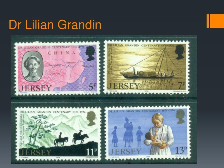 Dr Lilian Grandin