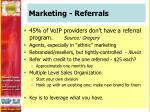 marketing referrals