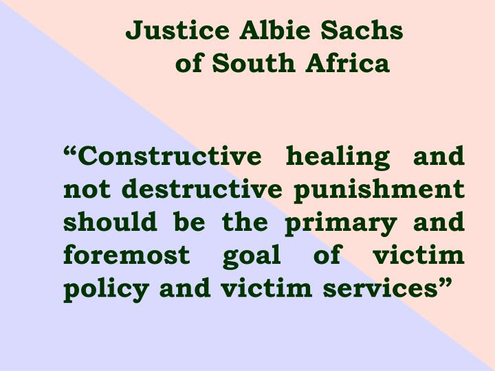 Justice Albie Sachs