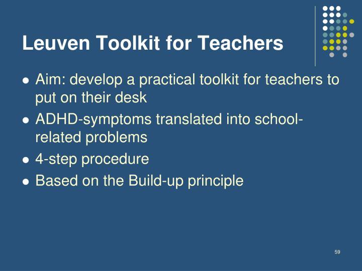 Leuven Toolkit for Teachers