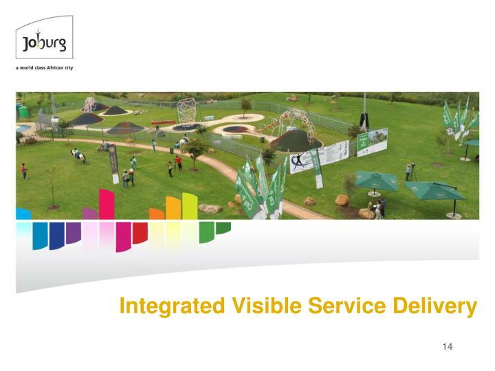 Integrated Visible Service Delivery