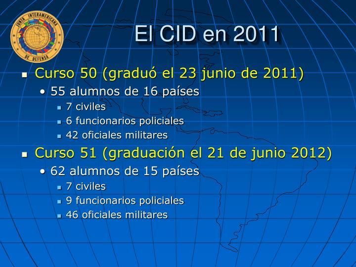 El CID en 2011