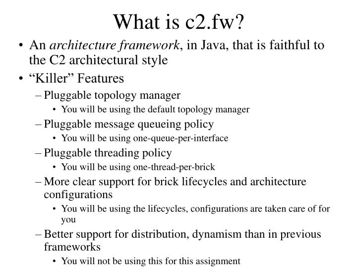 What is c2.fw?