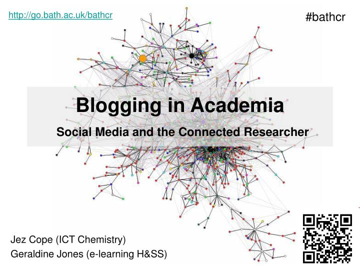 blogging in academia social media and the connected researcher