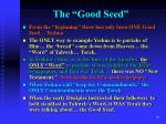 the good seed