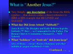 what is another jesus