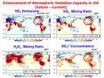 enhancement of atmospheric oxidation capacity in jja future current