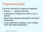 programming style1