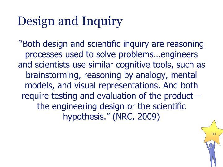 Design and Inquiry