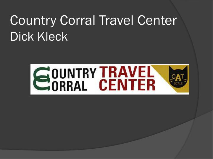 Country Corral Travel Center