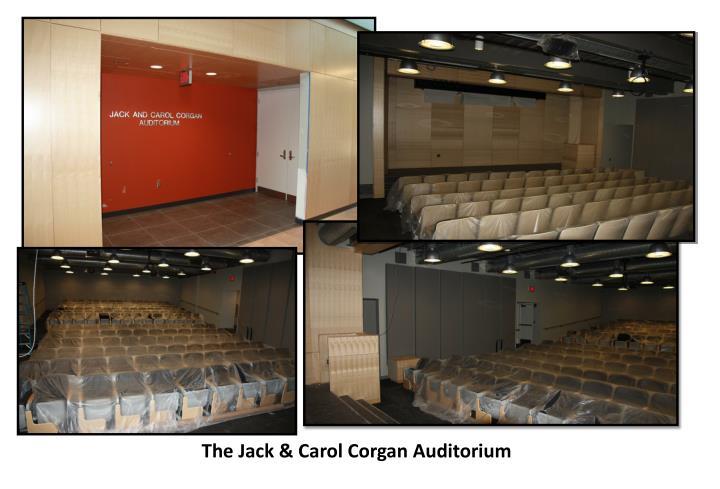 The Jack & Carol Corgan Auditorium