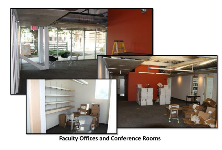 Faculty Offices and Conference Rooms