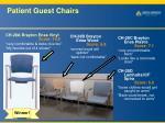 patient guest chairs