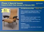 phase 3 special issues patient hi back chair january to february 2009