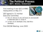 the political process geo i geneva switzerland