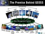 the premise behind geoss