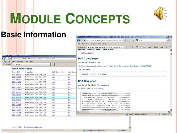 Module Concepts