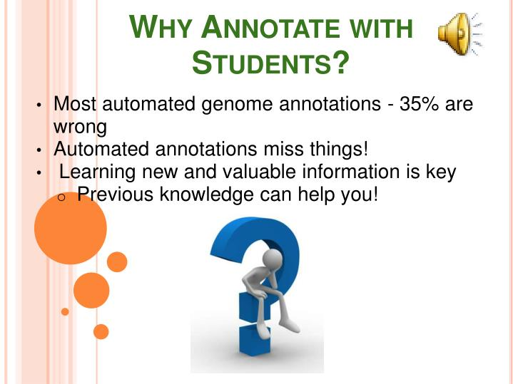 Why Annotate with Students?