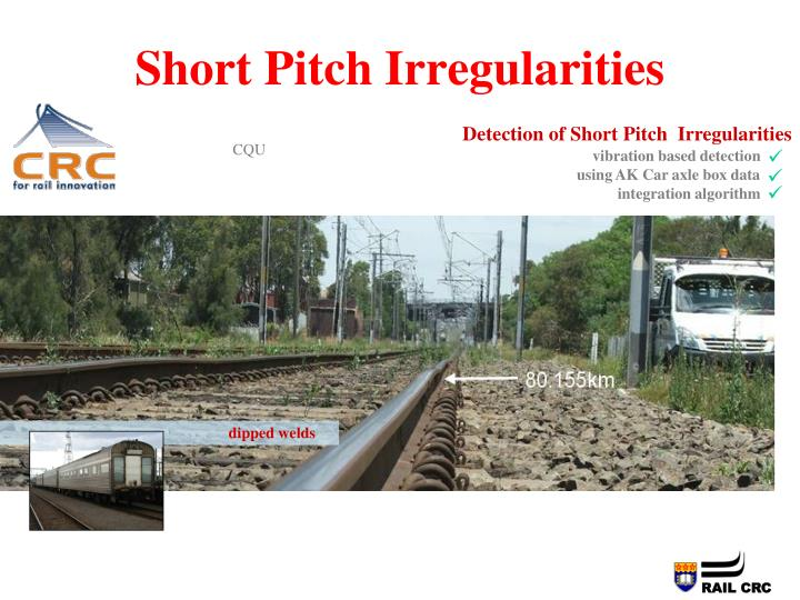 Short Pitch Irregularities
