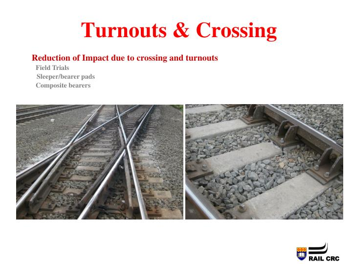 Turnouts & Crossing