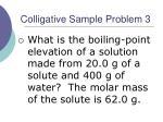 colligative sample problem 3