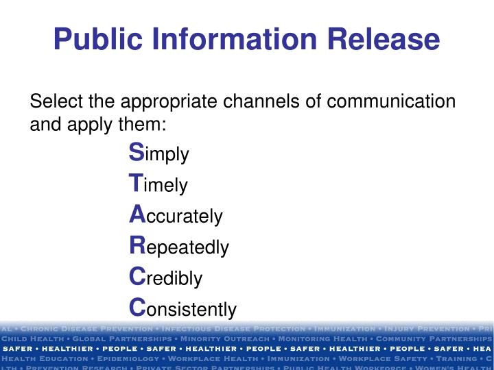 Select the appropriate channels of communication and apply them: