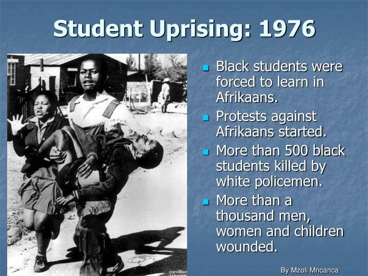 Student Uprising: 1976