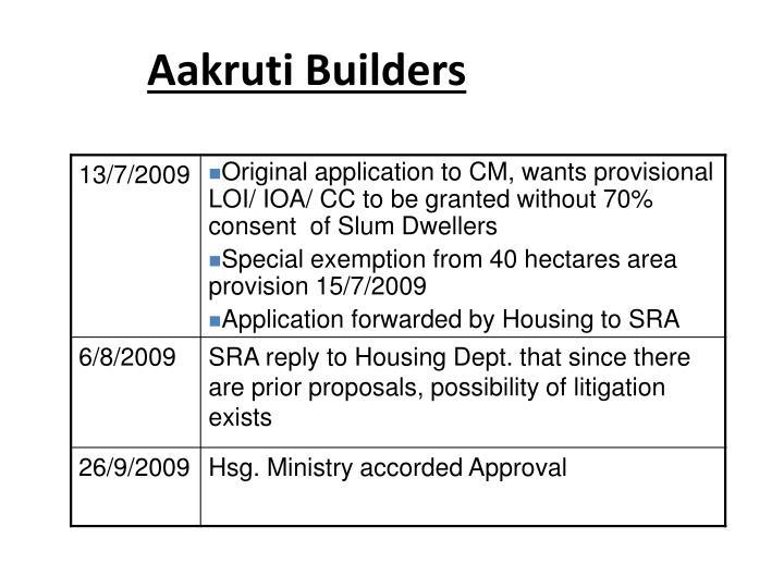 Aakruti Builders