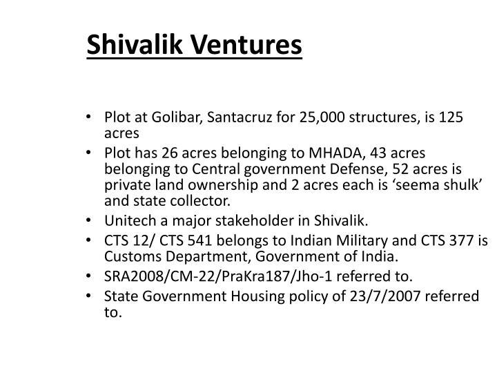 Shivalik Ventures
