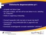 di tistische diagnose advies pt 1