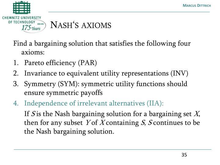 Nash's