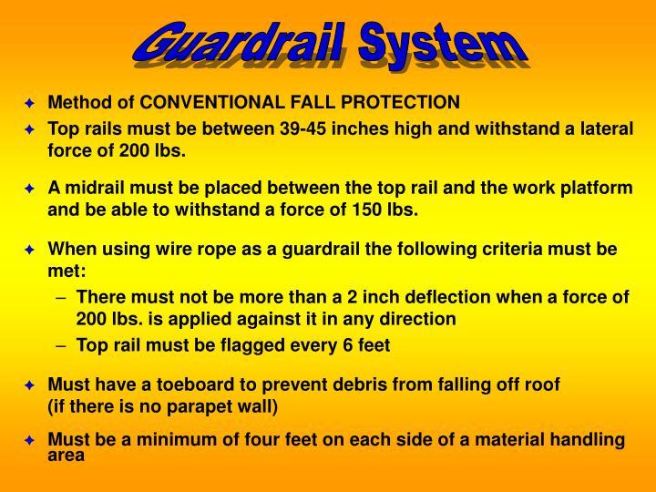 Guardrail System