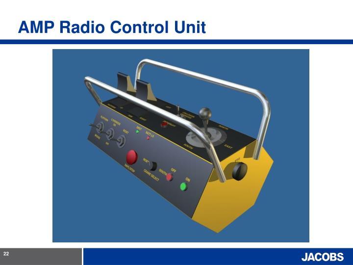 AMP Radio Control Unit