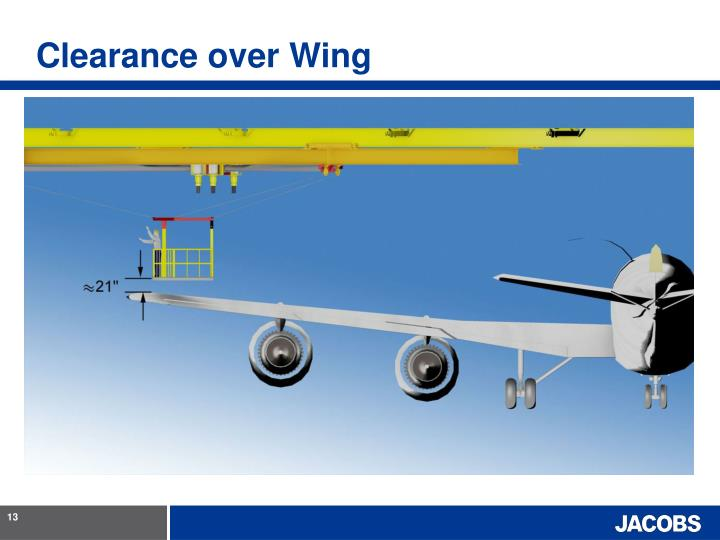 Clearance over Wing