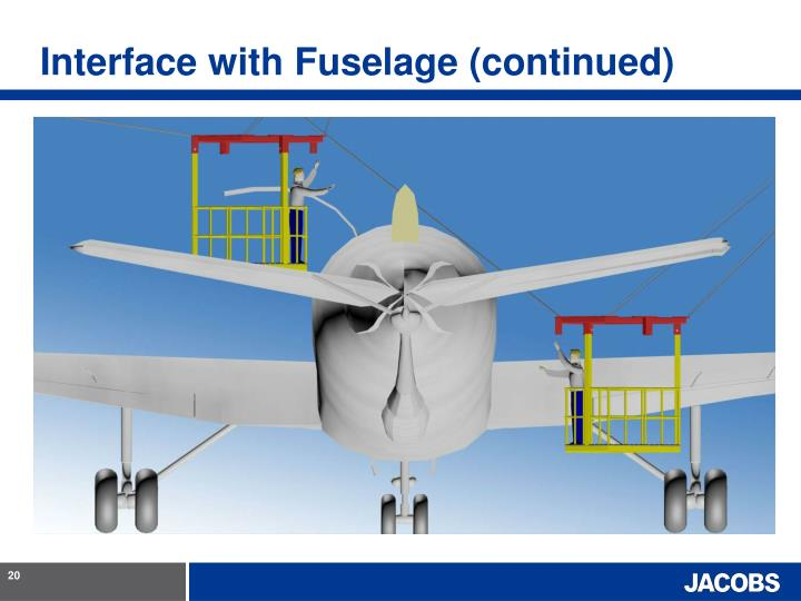 Interface with Fuselage (continued)