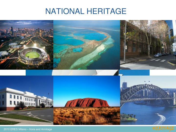 NATIONAL HERITAGE