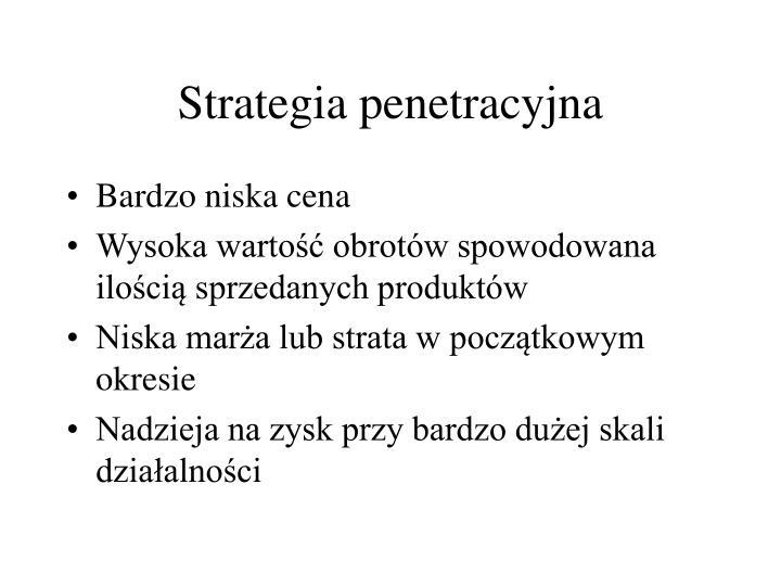 Strategia penetracyjna