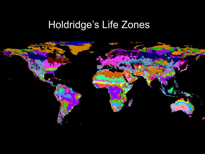 Holdridge's Life Zones