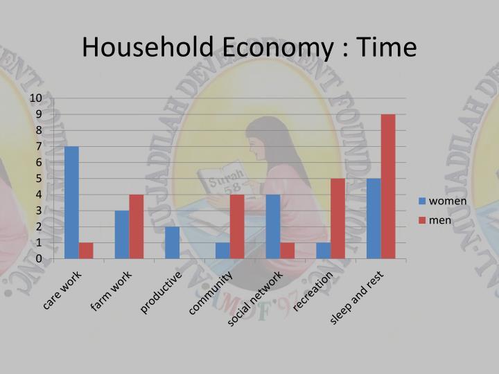 Household economy time