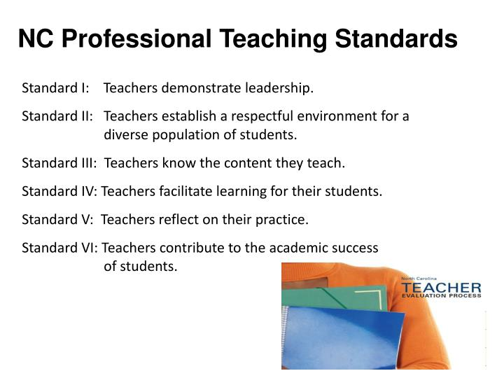 Nc professional teaching standards
