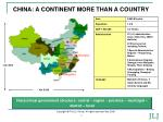 china a continent more than a country