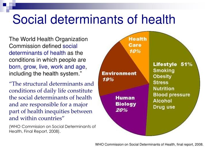 obesity and social determinants of health essay The social determinants of health agenda is not new, but the commission on social determinants of health led by sir michael marmot has rejuvenated the desire to understand the context and environment within which ncds are emerging (who, 2008c.