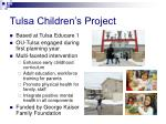 tulsa children s project