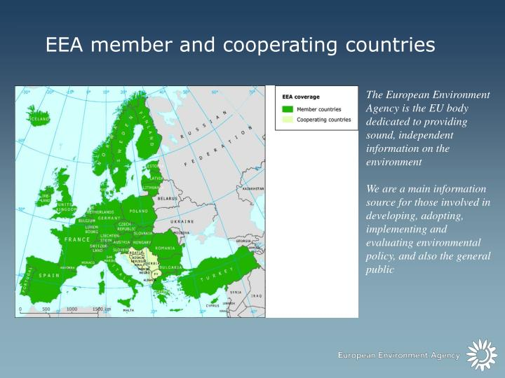 EEA member and cooperating countries