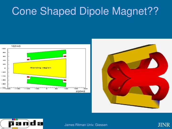 Cone Shaped Dipole Magnet??