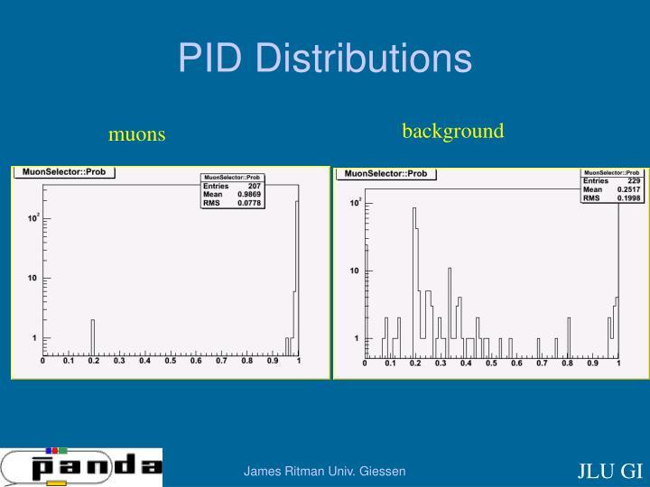 PID Distributions