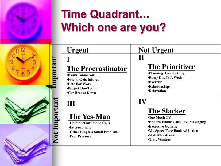 Time Quadrant…