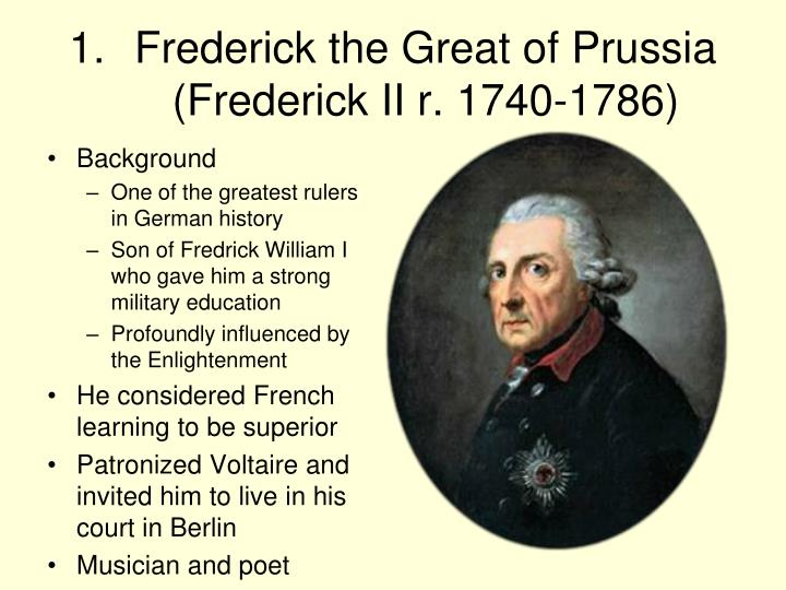 "a biography of frederick the great a prussian born monarch Frederick the great: praise for frederick the great ""writing frederick's biography requires blanning shows that this hereditary monarch, born in."