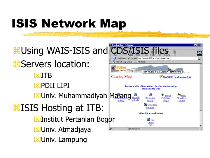 ISIS Network Map